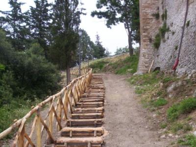 otricoli percorso pedonale ecogreen